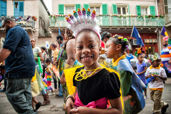 Kipps McDonogh #15 Children's Mardi Gras Parade 2013