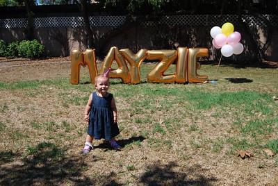 Mayzie's 1st Birthday