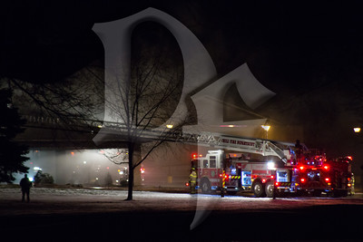St. Pius Church Fire - Chili, NY