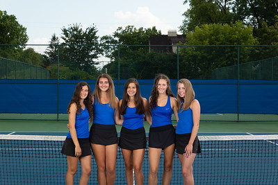 Girls Tennis Team Photos