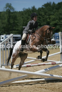 """Mary's 1st Horse Show on """"Chief"""""""