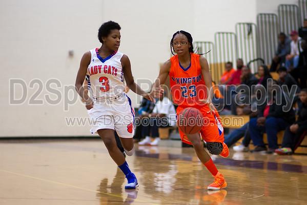 Glenn Bobcats vs Lexington Yellow Jackets Women's Basketball 12/13/2014