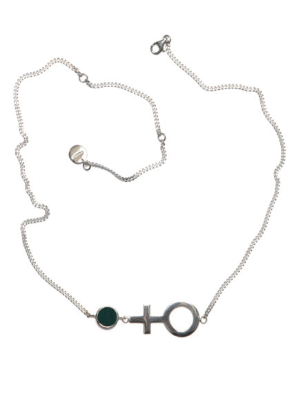 Future Is Female Necklace