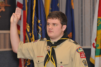 Christian Getchell Eagle Scout Award Ceremony