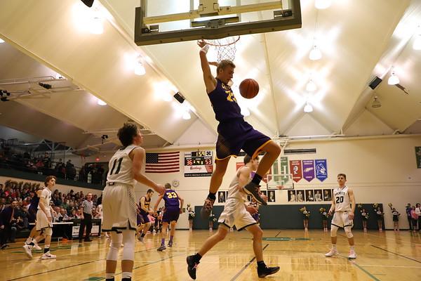 Basketball Boys Varsity vs Hackett - KCHS - 2/16/18