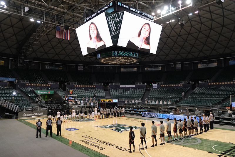Hawaii Crushes Hilo, 89-66, in Second Game of the 2020-21 Season
