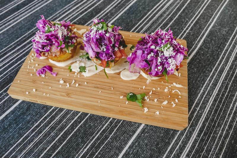 Tostones Rellenos with Shrimp
