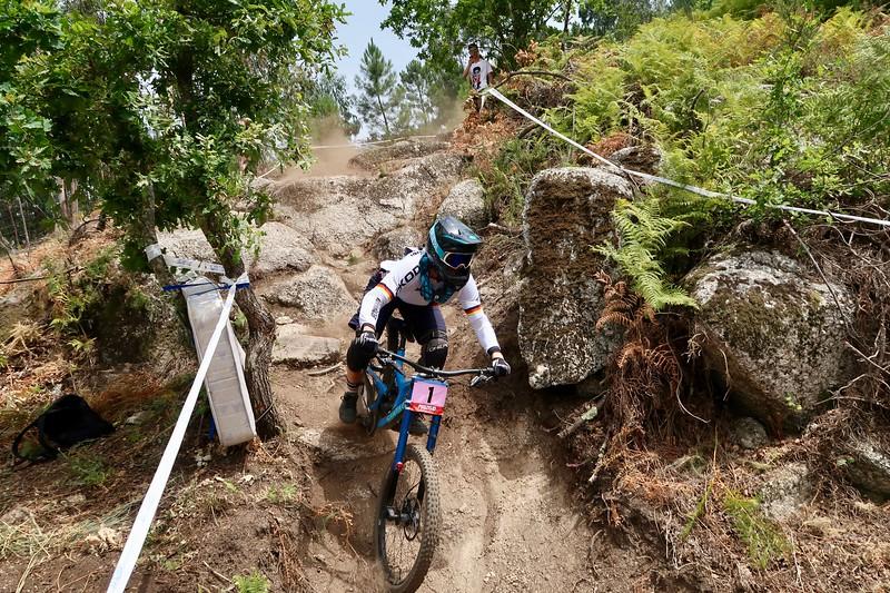 Nina Hoffmann Downhill Uni Jena Platz 1