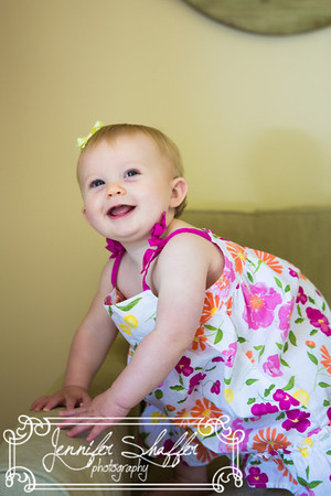 Leah 9 Month Session Highlights