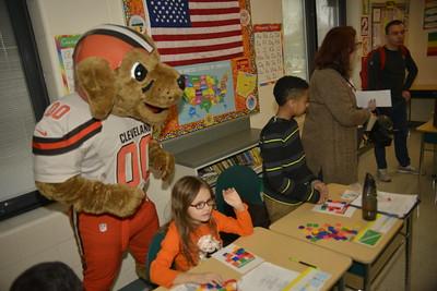 Cleveland Browns @ Toni Morrison School, Lorain