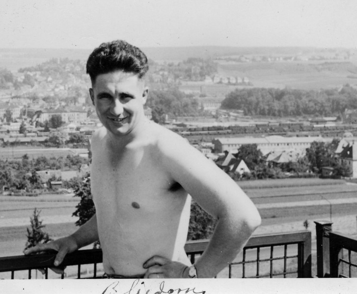 Dad in Germany, so around 1950.