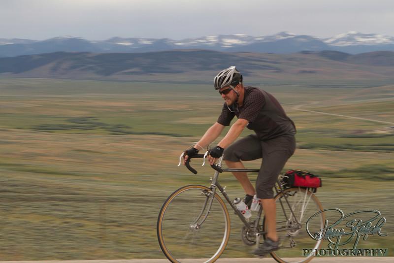 2011 Bike Tour - Day 7 - Jason in Montana