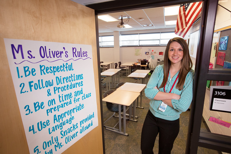 leah oliver,student teaching
