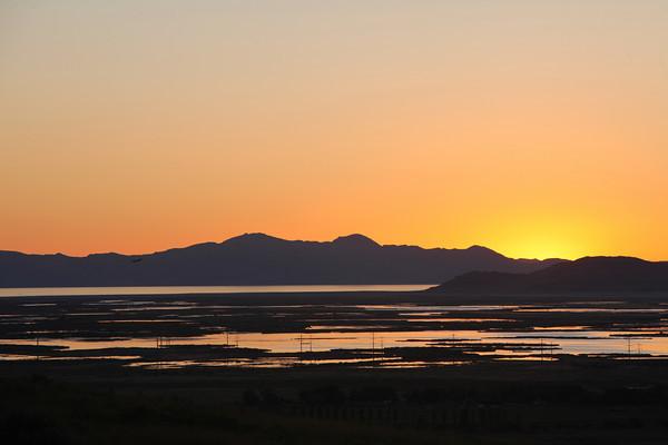 North Salt Lake Sunset - September 2010