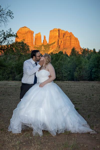 Alyssa & Alan's Sedona Wedding