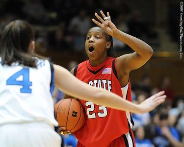 1/20/08 - NCAA Women: Duke Blue Devils vs NC State