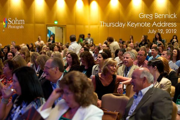 Thursday Keynote-Greg Bennick