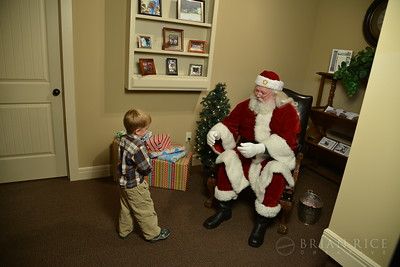 Forest View Santa Party 12.04.12