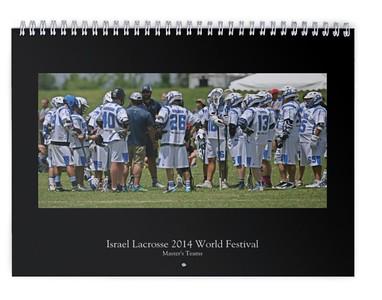2015 Israel Lacrosse Masters Calendar #3