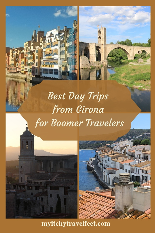 Best day trips from Girona, Spain, for boomer travelers.