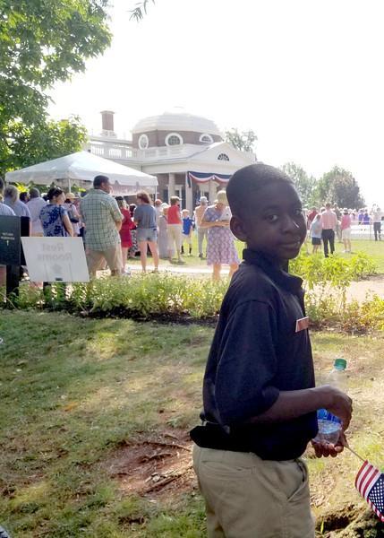 Monticello Naturalization Ceremony