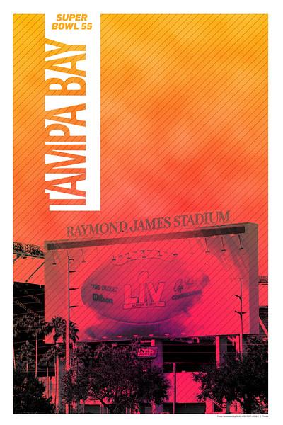 16 x 24 - Tampa Bay