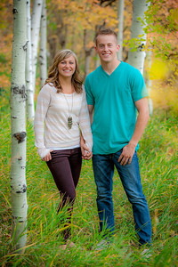 Jessica and Josh Snowbasin