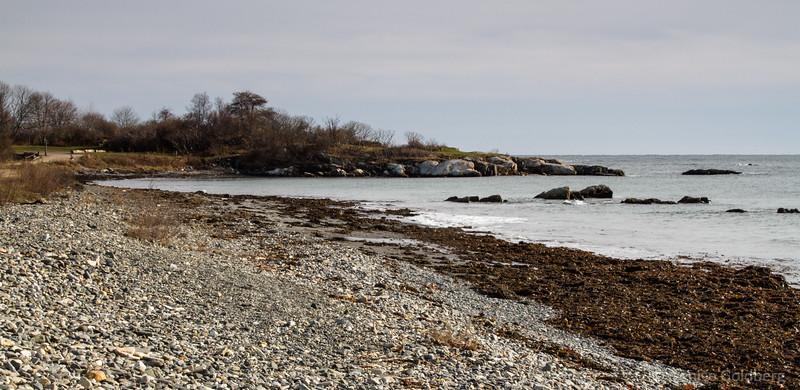 along the coast, Kittery Point