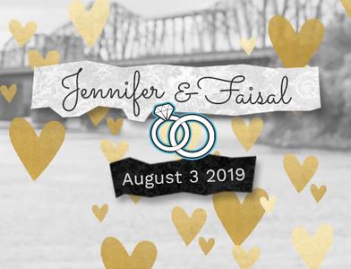 Jennifer & Faisal 2019
