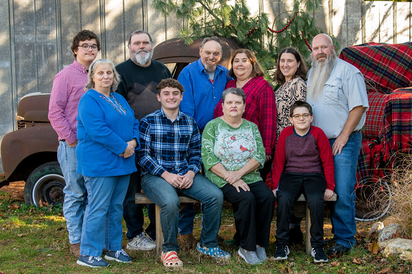 Janet's family 2020