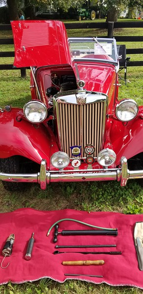 British Car Show-Middleburg VA