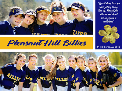 PHHS Varsity Softball 2016