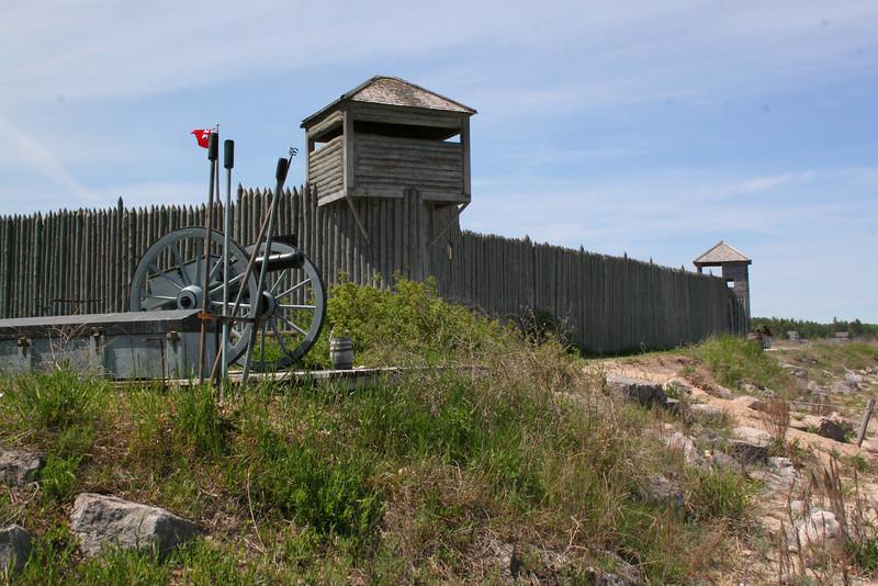 Fort Michilimackinac - Mackinac State Historic Parks (MI)
