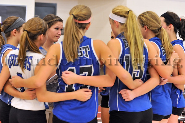 Lincoln-Way East Freshmen Girls Volleyball (2013)