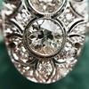1.75ctw Edwardian Toi et Moi Old European Cut Diamond Ring  35