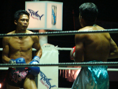Muai Thai Boxing Match