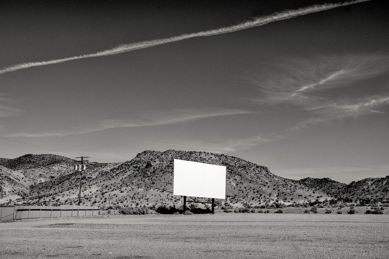 An Abanddoned drive in Theatre in Barstow CA. 2016