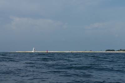 Kayaking Near Fort Pickens - 2012