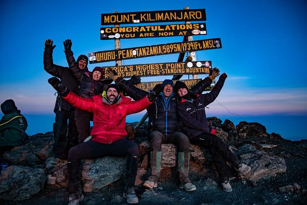 Kilimanjaro October 9-15, 2018