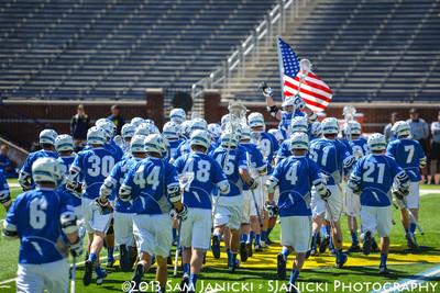 Michigan Men's Lacrosse Vs Air Force 3-30-13