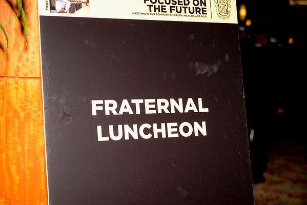 Fraternal Luncheon