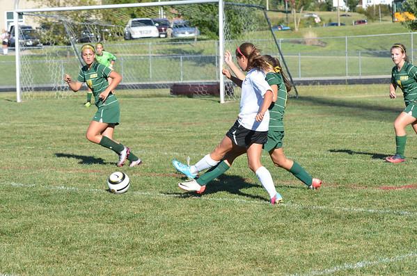 WMHS Girls JV Soccer vs Century 9_6_13