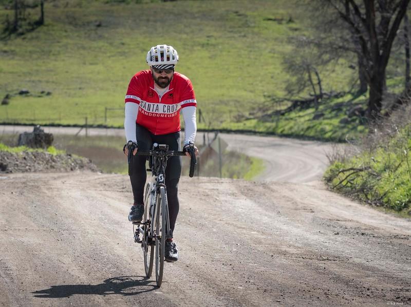 Big Canyon Road, Davis Bike Club Cobb Mountain 300k Brevet, Lake  County, California; March 2019