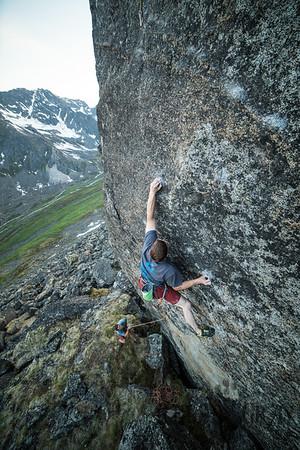 Hatcher Pass Gargoyle w/ Todd 07/04/18