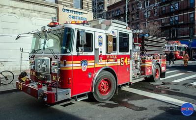 2 Alarm Structure Fire - Unknown Address, Manhattan, NY - 1/11/19