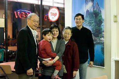 Midori Yenari and Family in DC - November 19, 2008