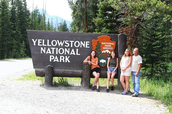 2018 Family Vacation: Yellowstone