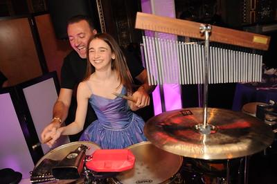 Percussionist Loan Roberts