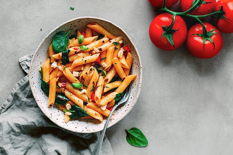 One Pot Marinara Pasta (Instant Pot) - Vegan Italian Recipes