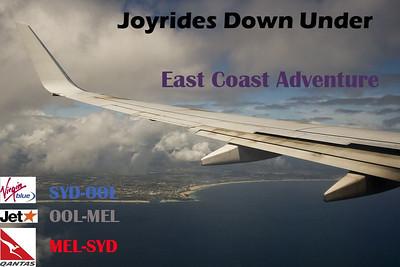 Joyrides 3 - SYD-OOL-MEL-SYD - DJ, JQ, QF (2009)